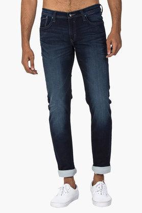 LEEMens 5 Pocket Skinny Fit Mild Wash Jeans (Low Bruce Fit)