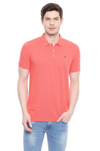 LOUIS PHILIPPE SPORTS -  Red Mix T-shirts - Main