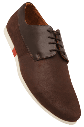 LOUIS PHILIPPE Mens Leather Lace Up Casual Shoe
