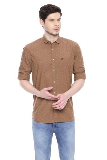 ALLEN SOLLY -  Brown Shirts - Main