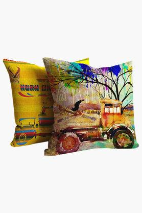 Horn Ok Please Polyester Cushion Cover