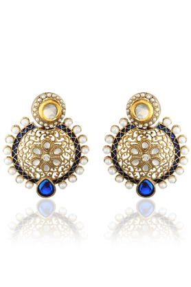 ZAVERI PEARLS traditional Classic Earring - ZPFK1371