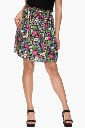 FRATINI WOMAN Womens Printed Knee Length Skirt  ...