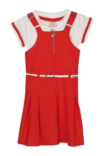 TINY GIRL -  RedDresses & Jumpsuits - Main