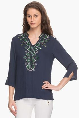 Gipsy Womens Embroidered Tunic