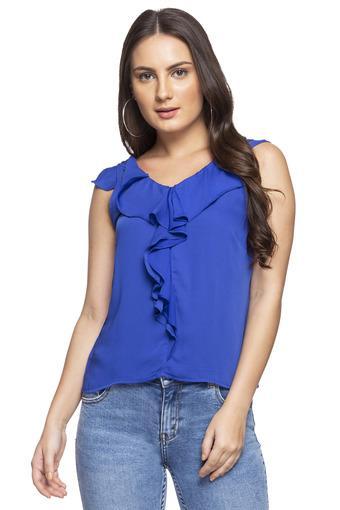 ZINK LONDON -  BlueT-Shirts - Main