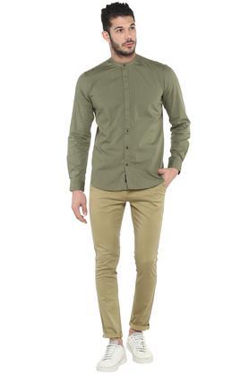 FRATINI - OliveCasual Shirts - 3