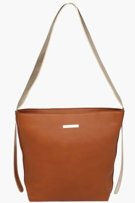FEMINA FLAUNT Womens Synthetic Leather Zipper Closure Sling Bag - 201784238