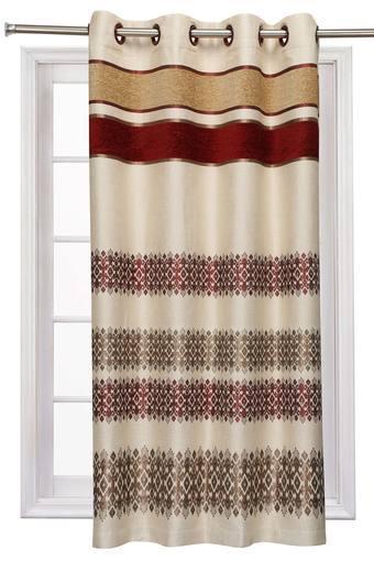A173 -  MaroonWindow Curtain - Main