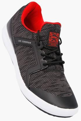 LEE COOPERMens Mesh Lace Up Sports Shoes - 202523292_9607