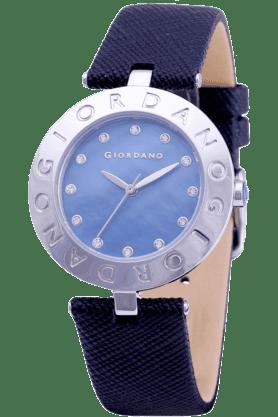 GIORDANOWomens Black Silicon Strap Analog Watch- 2754-01