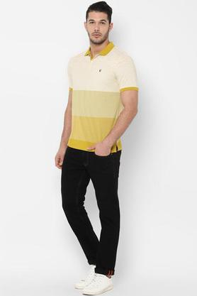 ALLEN SOLLY - MustardT-Shirts & Polos - 2