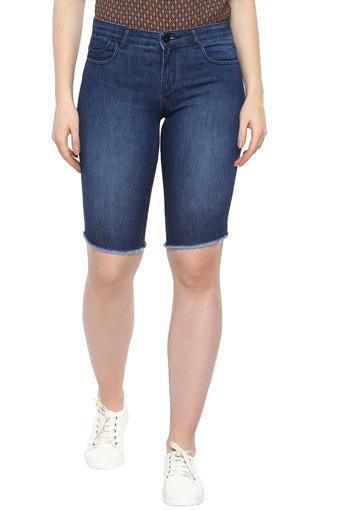 VIBE -  Dark BlueCapris & Shorts - Main