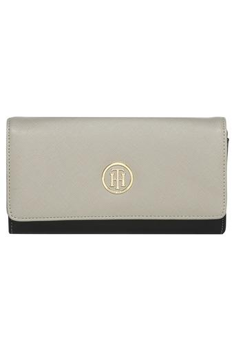 TOMMY HILFIGER -  Grey Wallets & Clutches - Main