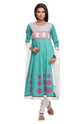 IMARA Women Embellished Churidar Suit - 200198503