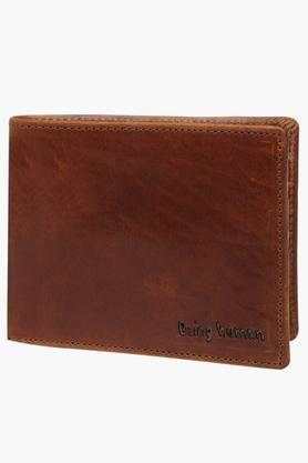 BEING HUMAN Mens 1 Fold Leather Wallet (Buy 3 Get Lowest At 50% Off)