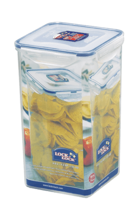 LOCK & LOCK Classics Tall Square Food Container - 4 Litres