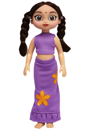 Girls Chutki Doll with Printed Outfit