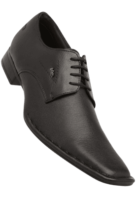 LEE COOPER Mens Leather Lace Up Formal Shoe