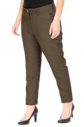 VAN HEUSEN - Olive Trousers & Pants - 2