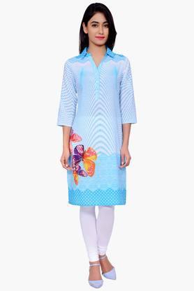 JUNIPERWomen Printed Cotton Kurta - 201932823