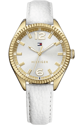 TOMMY HILFIGERLadies Analog Watch With Leather Strap - TH1781517J
