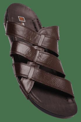 FRANCO LEONEMens Brown Slipon Slipper