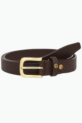 VAN HEUSEN Mens Buckle Closure Formal Belt
