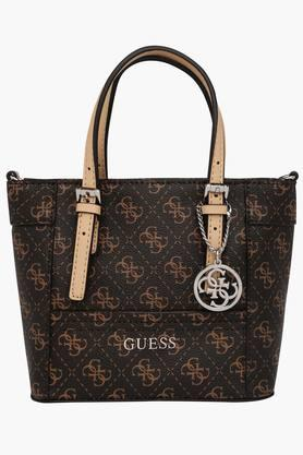 GUESSWomens Delaney Zipper Closure Tote Handbag