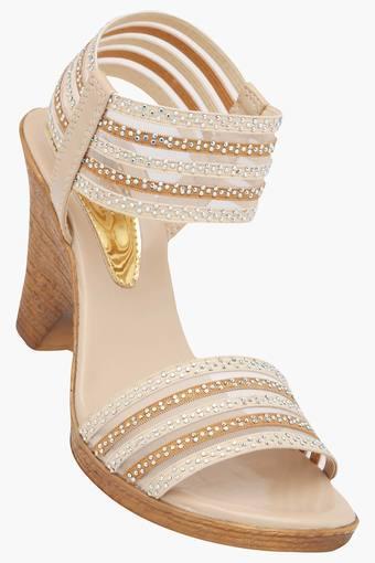 cdd78d1b420 Buy CATWALK Womens Party Wear Slipon Heel Sandals