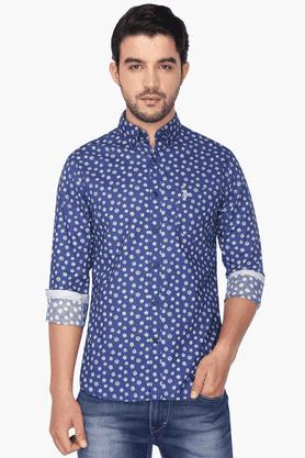 U.s. Polo Assn. Formal Shirts (Men's) - Mens Full Sleeves Casual Printed Shirt
