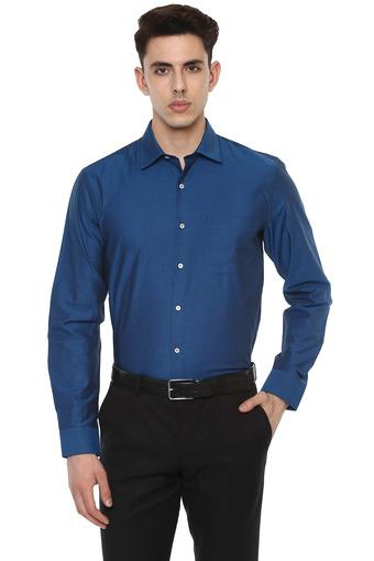 RS BY ROCKY STAR -  TealFormal Shirts - Main