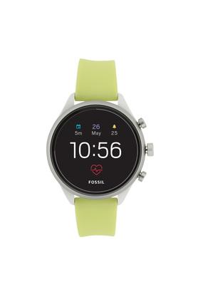 Womens Sport Black Dial Silicon Smart Watch - FTW6028
