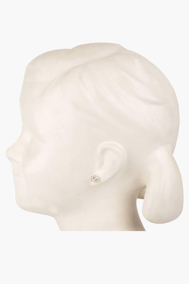 Girls Rhinestone Crown Earrings (3 Years +)