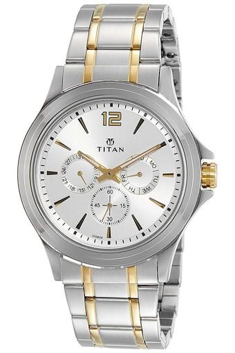 Mens Analogue Metallic Watch - 1698BM01