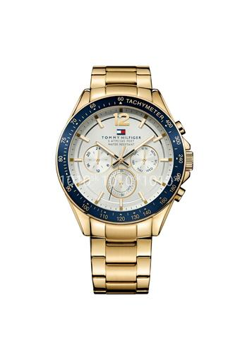 mago Soffio risonare  Buy TOMMY HILFIGER Mens Silver White Stainless Steel Multi-Function Watch -  NBTH1791121 | Shoppers Stop