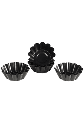 KITCHEN CRAFT Mini Fluted Tart Tins