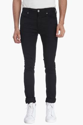JACK AND JONES Mens 5 Pocket Stretch Jeans (Liam Fit) - 201415688