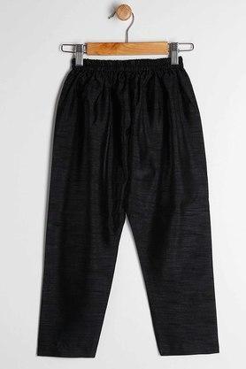 STOP - Black & WhiteKurta Pyjama Jacket Set - 3