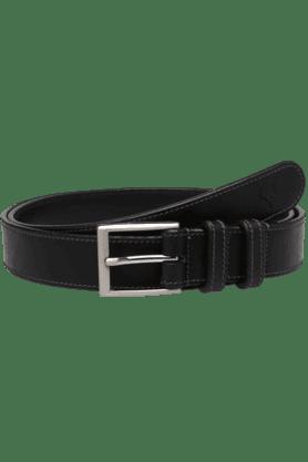 ALLEN SOLLYMens Leather Semi Formal Belt