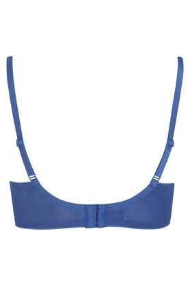 Womens Solid Padded Wired Full Coverage Bra