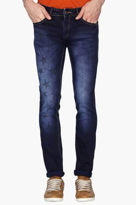RS BY ROCKY STAR Mens Printed Jeans