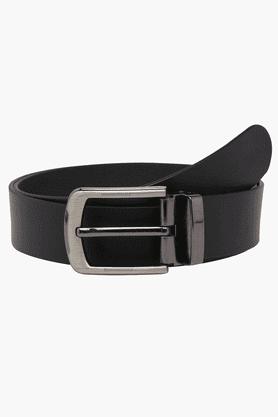 LIFEMens Leather Reversible Formal Belt
