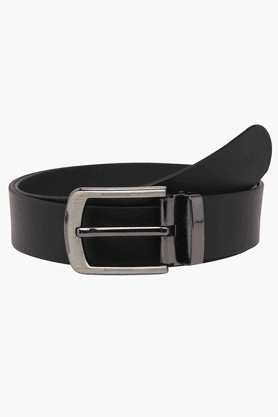 LIFE Mens Leather Reversible Formal Belt