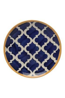 Round Printed Moroccan Side Plate