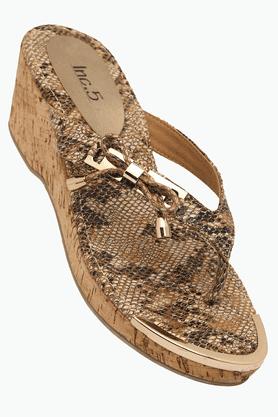 INC.5Womens Party Wear Slipon Wedge Sandal