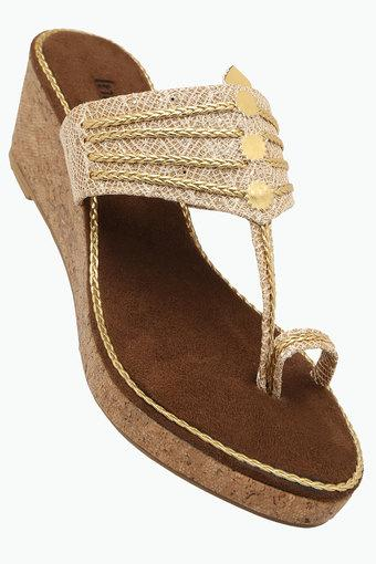 Womens Casual Slipon Wedge Sandals