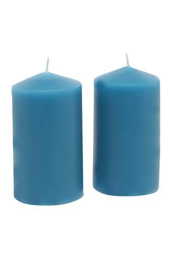 IVY -  Blue Candles & Candle Stands - Main