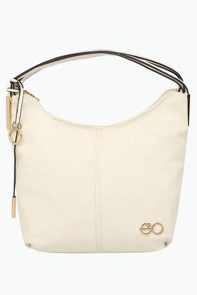 E2O Womens Zipper Closure Satchel