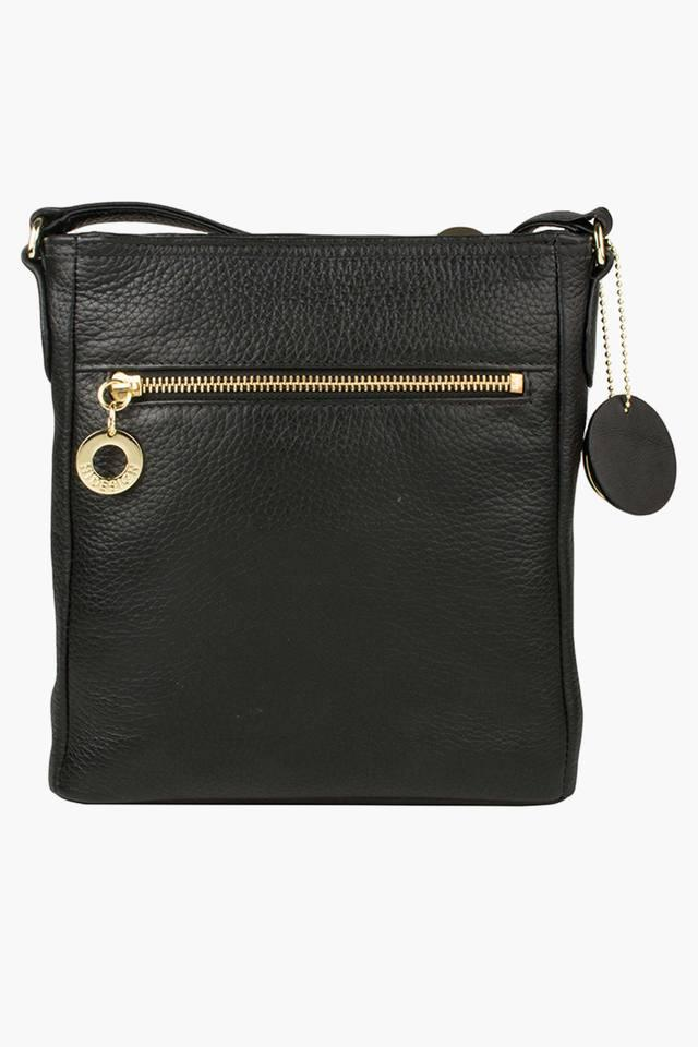 Womens Lucia Zipper Closure Sling Bag